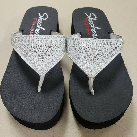 Skechers Shoes | Yoga Mat Flip Flops